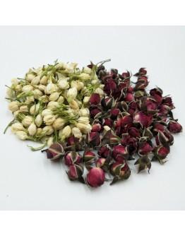 茉莉玫瑰花茶 -5 茶包裝