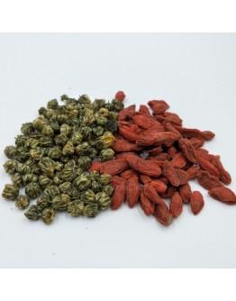 胎菊杞子茶 -5 茶包裝