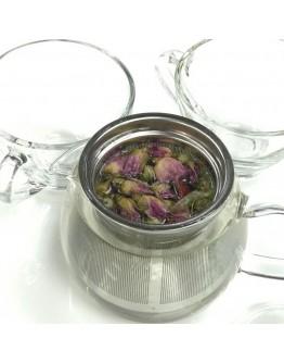 金邊玫瑰-茶包